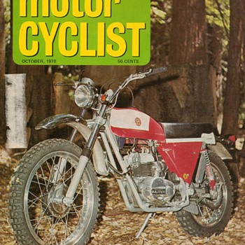 "1970 - ""Motor Cyclist"" Magazine - Paper"