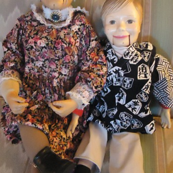 Granny Arrived!  Ambermoon Fluffyaim! Interestuing old Doll!!! - Toys