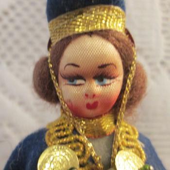 Doll, souvenir Greek?