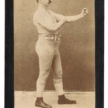 John L. Sullivan, Boxer - Photographs