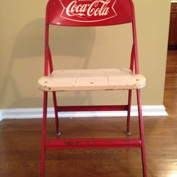 Bridge chairs - Coca-Cola