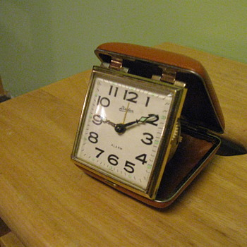 1950's-1960's Travel Alarm Clock