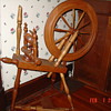 A True Antique...Standard Flax Spinning Wheel...1700's to 1800's