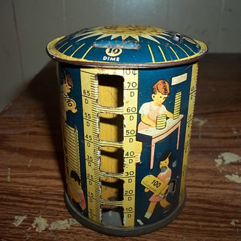 VINTAGE BANK - Coin Operated