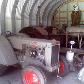 1932 Case CO orchard - Tractors