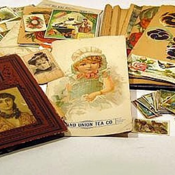 Trade Cards Tobacco Cards Grand Union Tea  - Cards