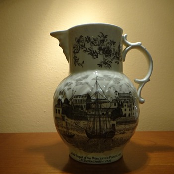 BICENTENARY ROYAL WORCESTER 1751-1951 ENGLAND PITCHER /REPOST