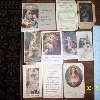 1920s 30s vintage religous cards