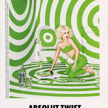80s era Absolut P0stcard….