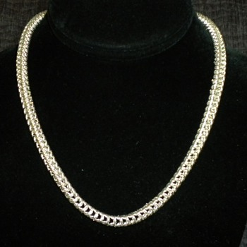 Queens Braid Chain - Fine Jewelry