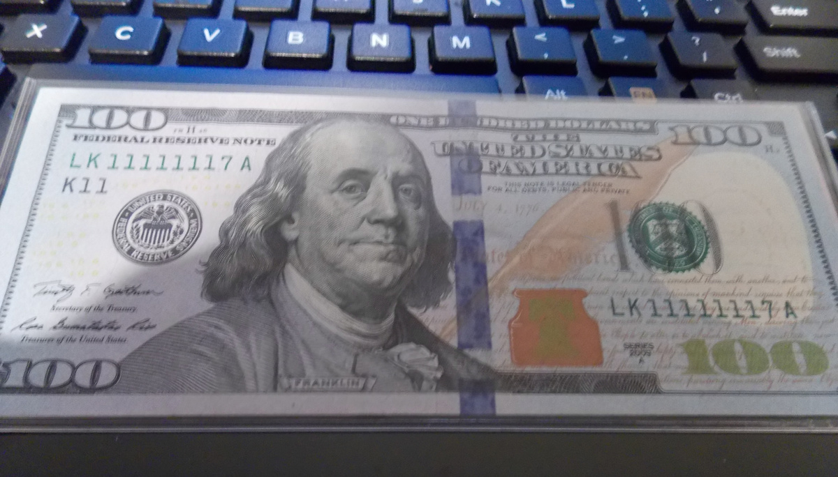Fancy Serial Number 100 Dollar Bill Collectors Weekly
