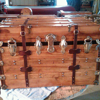 Another completed trunk - Furniture