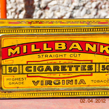 Old Cigarette case - Tobacciana