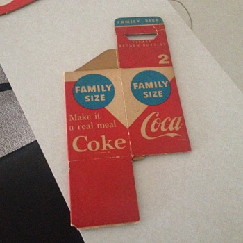 Coca Cola Carrier and Coasters - Coca-Cola