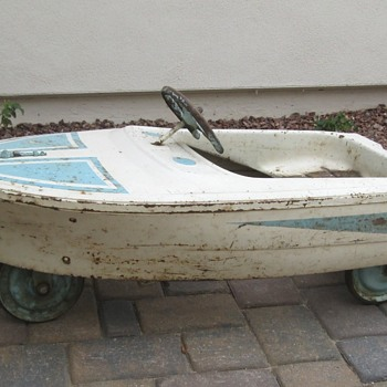 Murray Boat Pedal Car