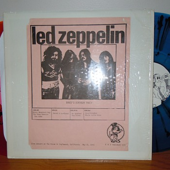 "Led Zeppelin Bonzo""s Birthday Party K&S 029"