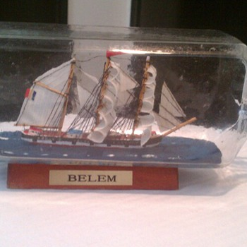 I always wanted a Ship in a Bottle
