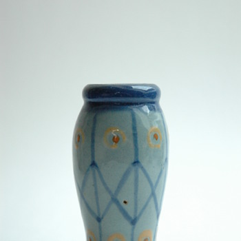 small french art deco pottery vase  by Léon Elchinger (1871-1942) - Art Deco