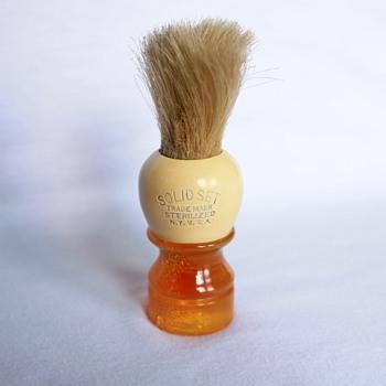 Solid Set Shaving Brush - Accessories