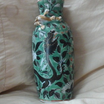 JAPANESE VASE  - Art Pottery