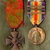 ID'd Croix de Guerre & 33rd Division Victory Medal