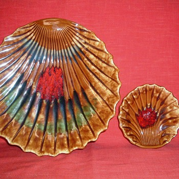Vintage chip & dip set