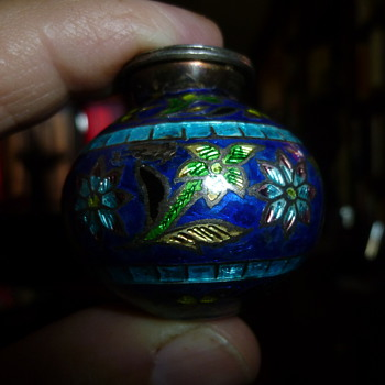 Miniature decorative vase