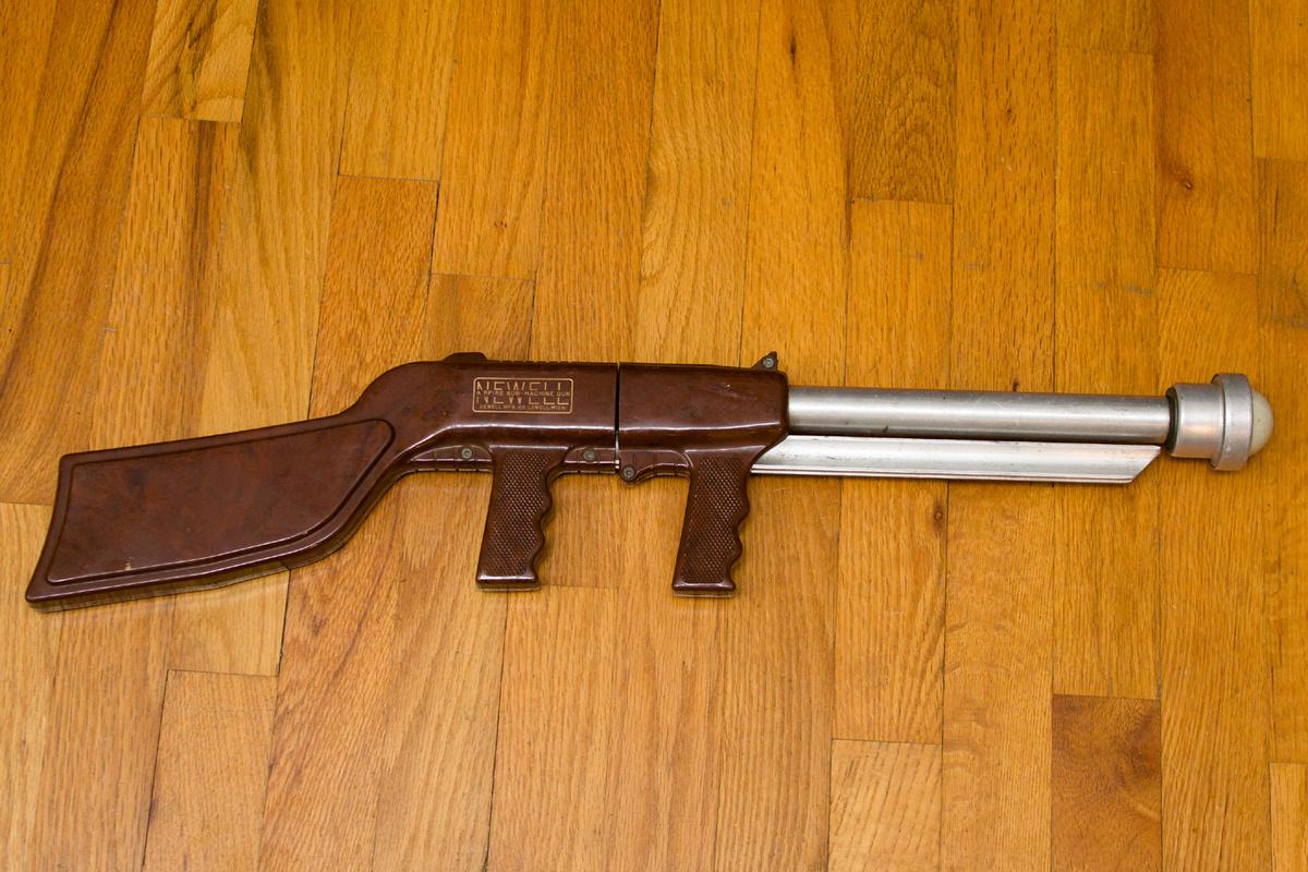 The Ping Pong Ball Gun or