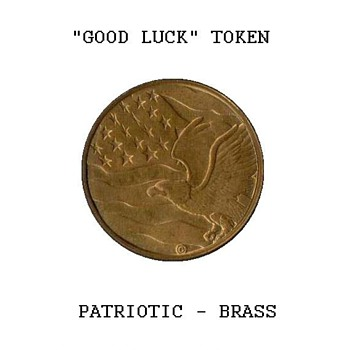 "Patriotic ""Good Luck"" Token - US Coins"