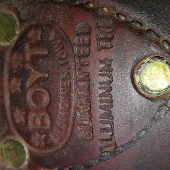 Boyt Vintage Saddle - Animals