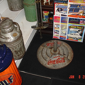 Original Coca-Cola Pedestal Base