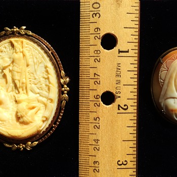 Italian Cameos - 1800's - Fine Jewelry