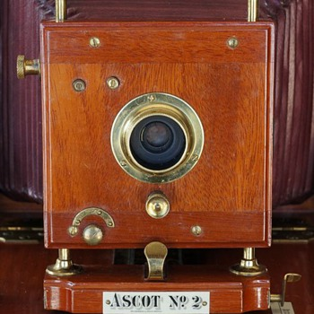 Ascot Cycle Camera No.2 Shutter, 1899. (the beauty of early camera shutters #8)