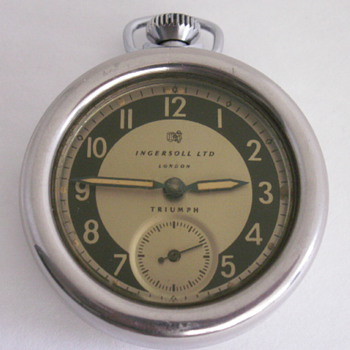 Ingersoll Ltd. London, Triumph  - Pocket Watches