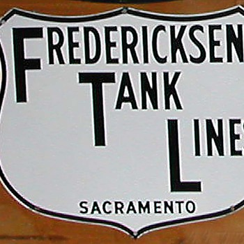 TRUCKING CO. SIGN