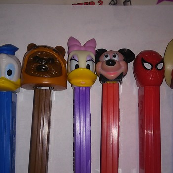 Pez candy holders