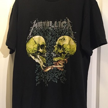 1994 Metallica / Pushead 'Sad But True' Tee Shirt - Mens Clothing