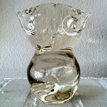 Murano Owl - Art Glass
