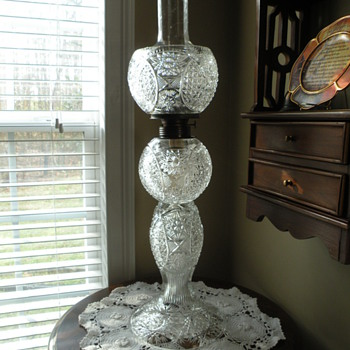 Crystal Oil Lamp - Lamps