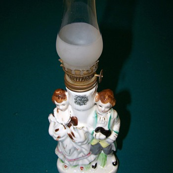 Any information on this Oil lamp (No mark)