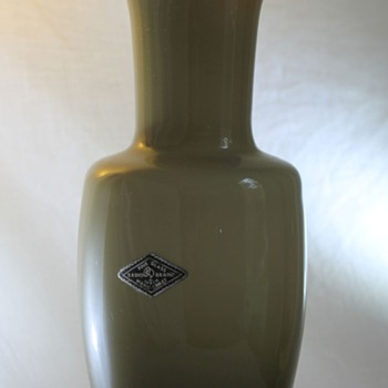Radio Brand Japan Vase - Art Glass