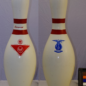 "AMF ""Medium  Meatball"" Tournament Bowling Pin"
