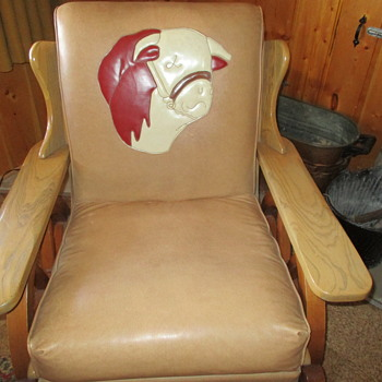 Hereford Western Design Upholstered Rocking Chair