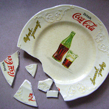 Oops! Plate fall down go boom!
