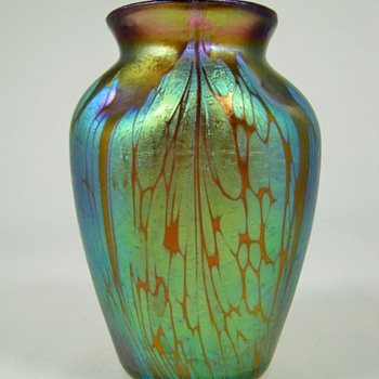 2 Loetz Medici Vases ca. 1902 - Art Glass