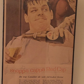 Carling's Red Cap Ale advert.