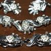 Trifari:  Earrings, Bracelet, and Necklace