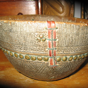 Old Wood Bowl
