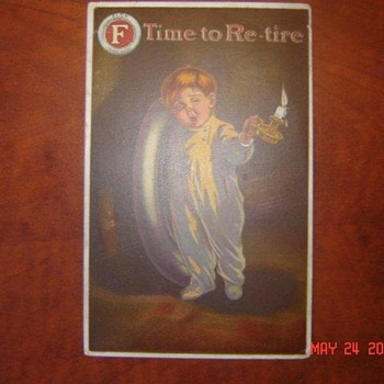 Fisk Tire Boy Post Cards and Ink Blotters - Petroliana