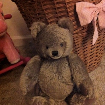 Steiff Teddy Bear...Anyone know something about this little guy?